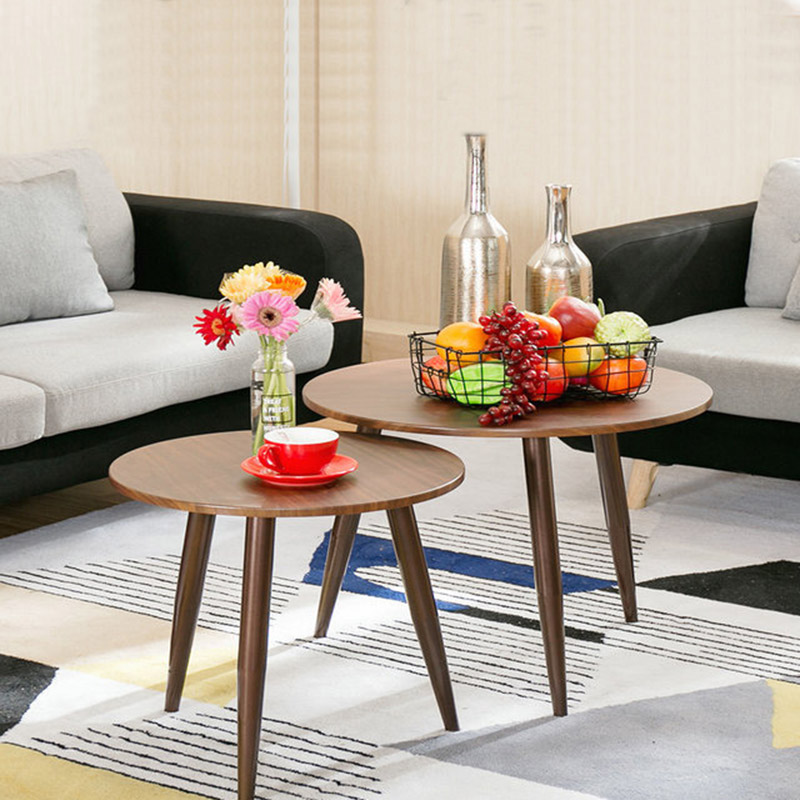 Nordic Wrought Iron Coffee Table Simple Living Room Mini Small Round Table Small Apartment Balcony Sofa Tea Table Desk simple small sized table living room sofa side nordic wrought iron coffee table creative small round wholesale 35 38cm