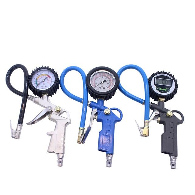New Digital Air Tire Pressure Inflator Gauge for Car Truck  Bike Motor Tire pressure gun Meter Vehicle Tester Monitoring System