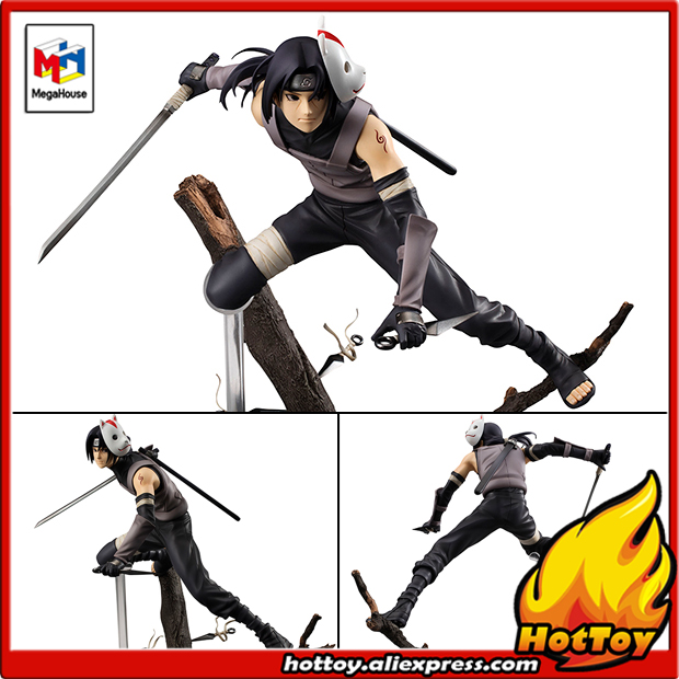 """100% Original Megahouse G.E.M. Complete Figure   Uchiha Itachi ver.ANBU from """"NARUTO Shippuden""""-in Action & Toy Figures from Toys & Hobbies    1"""