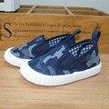Los niños respirables diseño lona de camuflaje shoes shoes shoes moda muchachos de las muchachas del niño del bebé shoes casual zapatillas de chicos