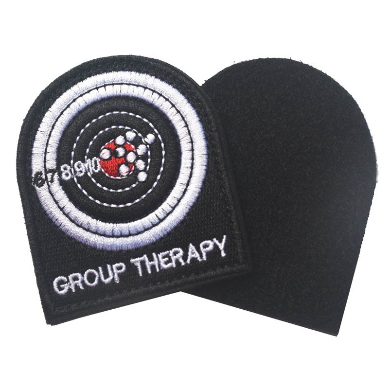 The Target Shooting Tactical US Made Group Therapy patch Combat Army Morale Hook/loop Patch badge