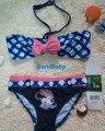Minnie Mouse Bikini Bikini Girls Set Kids Niños Trajes de Princesa traje de Baño Traje de Baño para Niñas