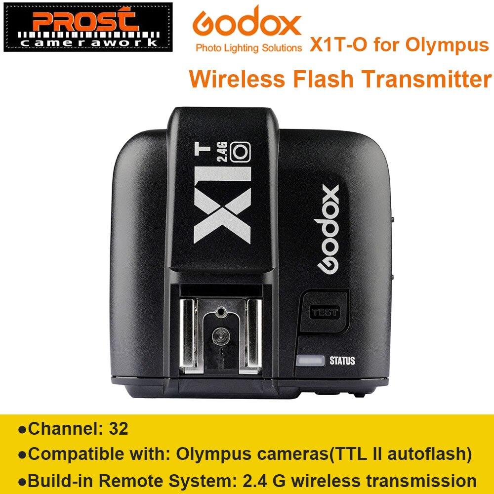Nouveauté Godox X1T X1T-O 2.4G transmetteur Flash Speedlite sans fil déclencheur pour appareils photo Olympus Panasonic