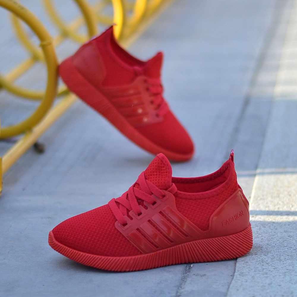 KLV frauen Schuhe Atmungsaktive Schuhe Laufschuhe Student Sport Schuhe damen größe 43 zapatillas mujer deportiva para #3