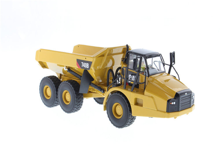 Norscot 1:50 Caterpillar 740B Articulated <font><b>Hauler</b></font>/Dump Truck Engineering Machinery Diecast Toy Model 55501 Collection,Decoration image