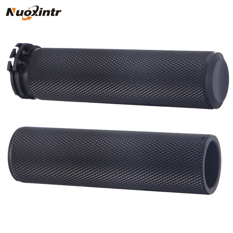 Nuoxintr Universal 1 25MM CNC Motorcycle Handle Grips Racing Handlebar Grip for KTM Honda Kawasaki Yamaha Suzuki Ducati BMW