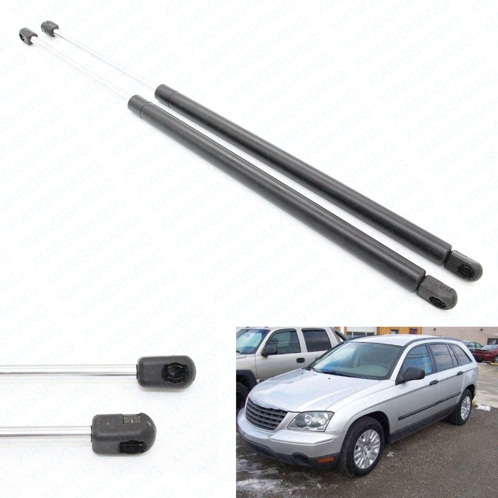 Auto Rear Liftgate Hatch Boot Gas Charged Struts Spring Lift Support For 2004 2008 Chrysler Pacifica Sport Utility 24.92 inch lift support lift struts lift spring - title=