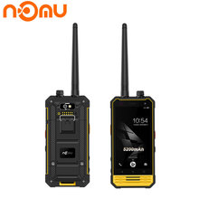 Original Nomu T18 IP68 Smartphone 3GB RAM 32GB 4.7″Android 7.0 Intercom Wakie Talkie GPS Glonass NFC 5200mAh 4G LTE Mobile Phone