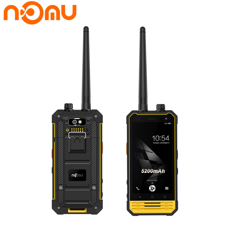 Original Nomu T18 Waterproof IP68 Wakie Talkie NFC Smartphone Intercom GPS 5200mAh 3GB RAM 32GB 4
