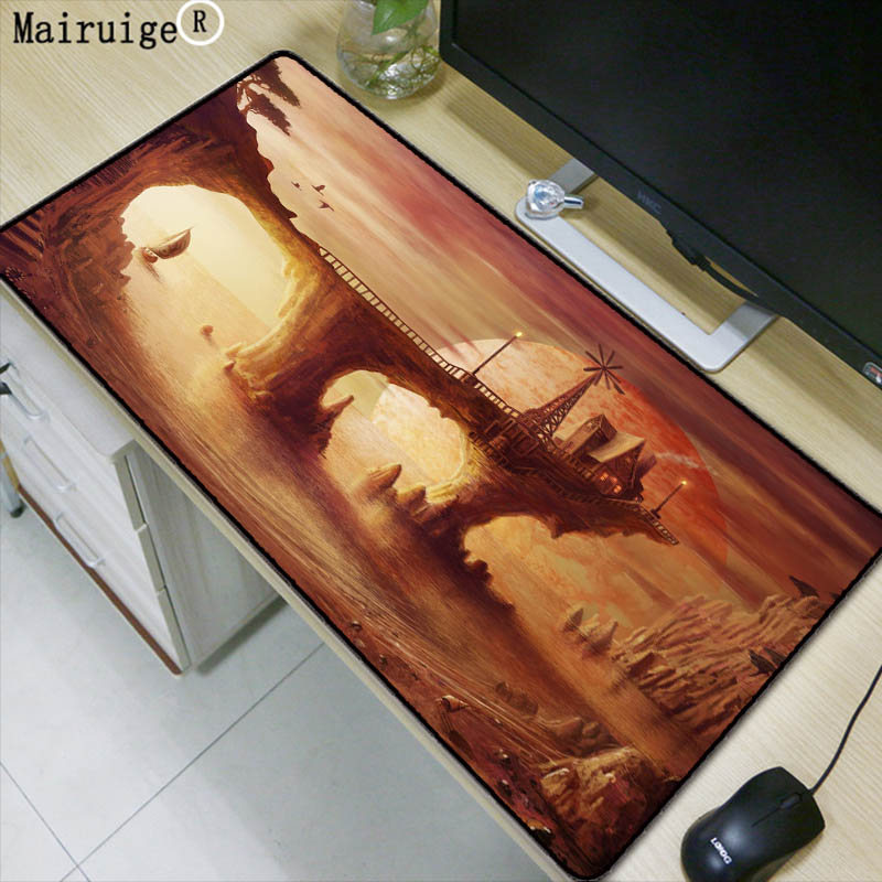 Mairuige Fantasy Landscape 900x400mm Pad To Mouse Notbook Co