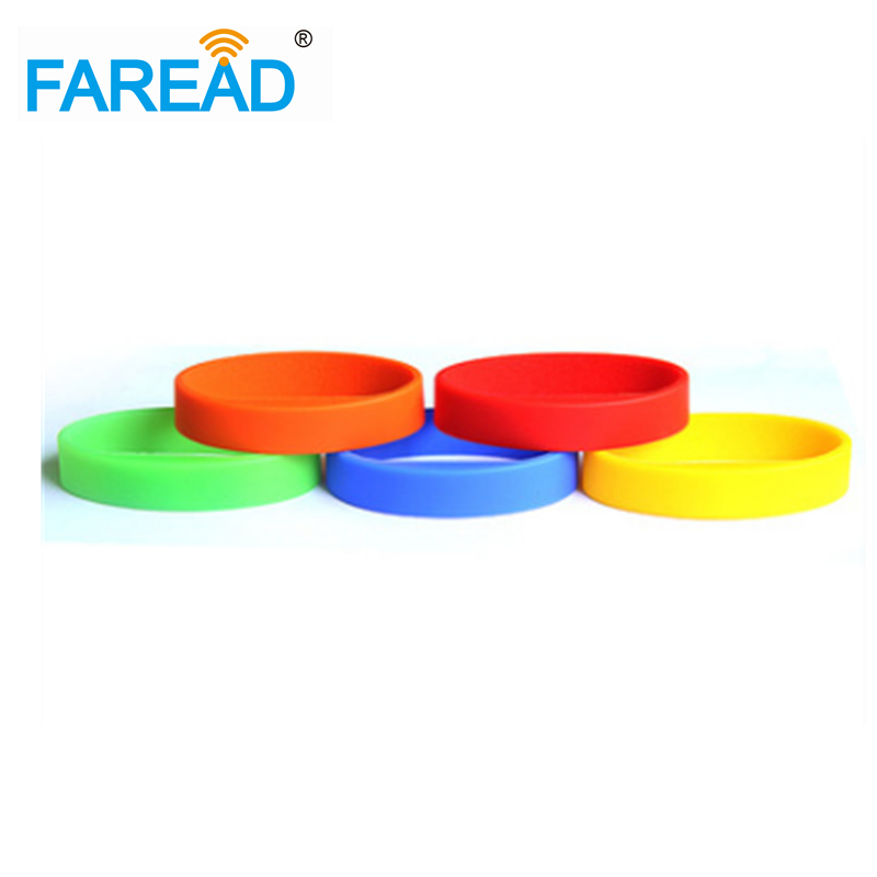 Free Shipping 125khz EM4305 RFID Wristband Bracelet Rewritable ID Card For Swimming Pool Sauna Room 100pcs/lot