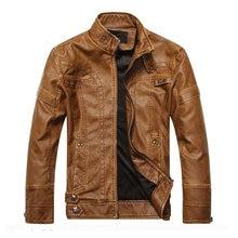 Новое поступление, брендовая мотоциклетная кожаная куртка для мужчин, мужская кожаная куртка jaqueta de couro masculina, мужские кожаные куртки, пальто