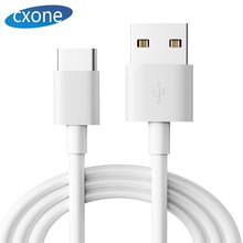 CXONE type-c data cable android phone quick charging is suitable for huawei P30/Mate20Pro xiaomi 89/vivo X27 white 1 m