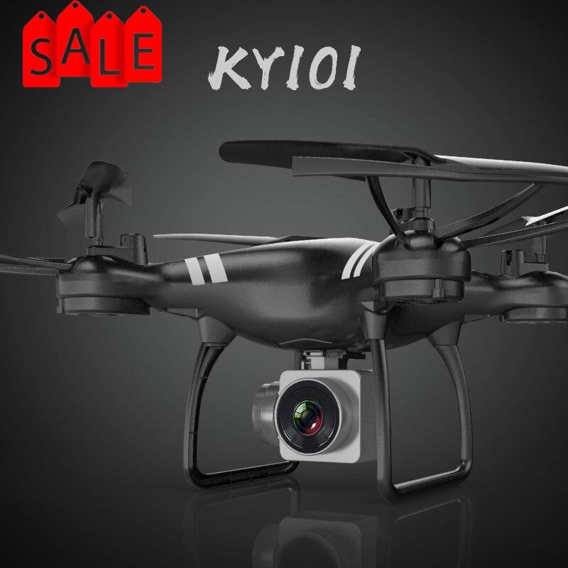 2018 XKY KY101 RC Drone Wifi FPV HD Adjustable Camera Altitude Hold One Key Return/Take Off RC Quadcopter Drone VS Syma X5