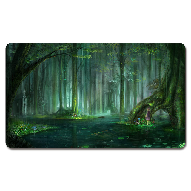 Magical Forest Background Playmat 525 Custom Anime Board