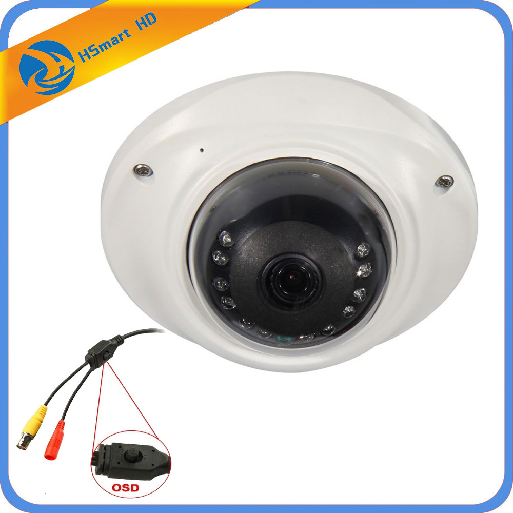 AHD 2.0MP 180 Degree Fisheye Wide Angle 1200TVL 1/3 SONY IMX 323 OSD 12Leds IR Dome CCTV 1080P 4 IN1 TVI CVI CVBS Fisheye Camera