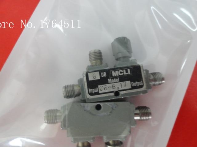 [BELLA] MCLI C6-6 7-12.4GHz 6dB RF Microwave Directional Coupler SMA