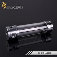 BYKSKI 200MM X 50MM Cylindrical Water Cooled Tank Acrylic Water Tank Water Cooling B CT AGC
