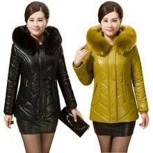 2015 New Winter Coat Women Thicken Fur Collar Warm Cotton-Padded Jacket Short paragraph Women Parka Winter Jacket Winter XL-5XL