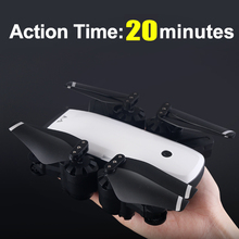 HOT! VISUO FPV Drone With Camera HD 720P/1080P Live Video Return Home Altitude Hold Foldable RC Quadcopter Helicopter Profession hubsan x4 h502c fpv drone quadcopter with 720p hd camera gps altitude mode rc camera quadcopter helicopter rtf live video