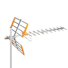 Powstro HD Digital TV Antenna For HDTV DVBT/DVBT2 470MHz 860MHz Outdoor TV Antenna Digital Amplified HDTV Antenna