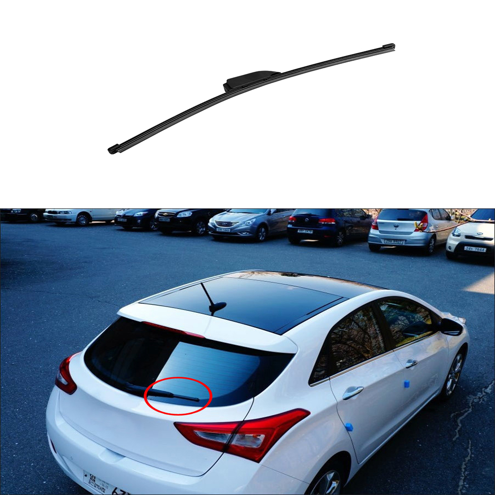 цена на High Quality Rear Glass Wiper Blade For 12~2016 Hyundai Elantra GT i30