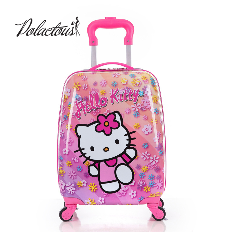 16inch 2016 new ABS+PC cartoon child suitcase/free shipping high quality cartoon Luggage /Boy and Girl Cartoon trolley case box покрышка maxxis pace кросс кантри 29x2 10 tpi 60 кевлар защита от проколов tb96764100