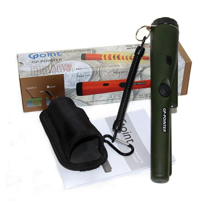 NOUVEAU imprimer Pinpointing détecteur de métaux GP-pointeur Garrett pro même style Statique état or détecteur de métal Armée