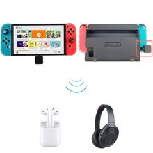 bcec4b1617f74c USB di Tipo C Senza Fili di Bluetooth 4.0 Adattatore Dongle Cuffie Audio  Trasmettitore per NS Interruttore Splatoon Zelda PS4 Gi.
