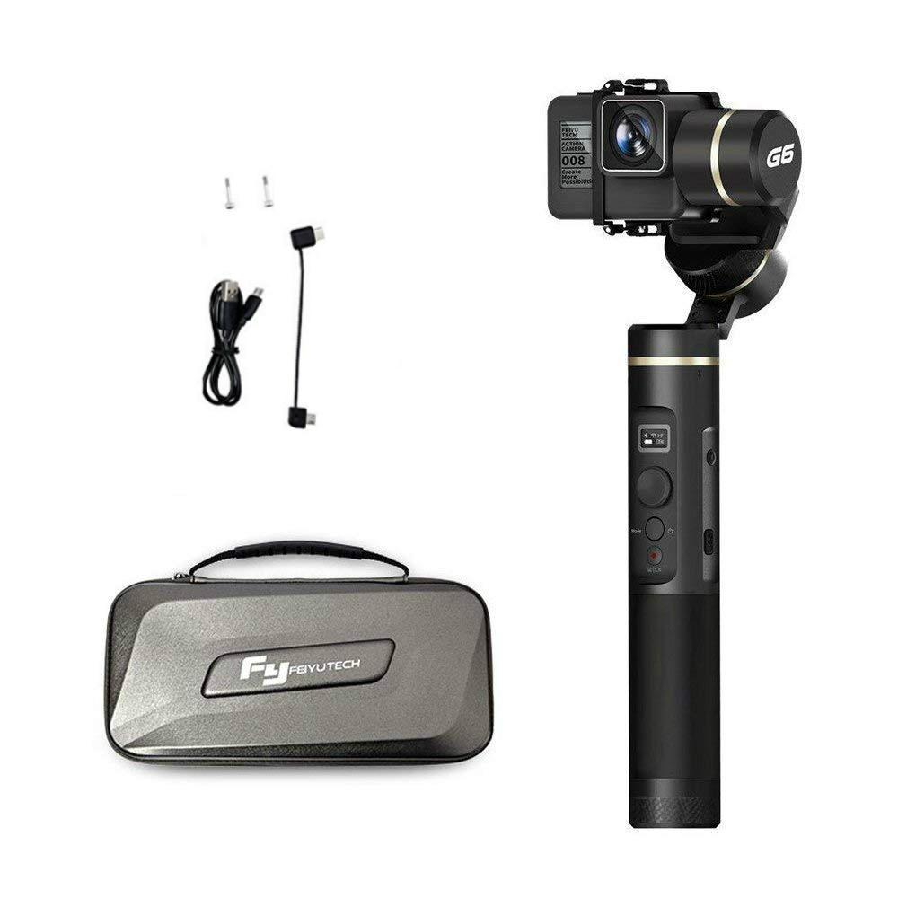 Feiyu G6 3-Axes De Poche Cardan stabilisateur Splash Preuve pour GoPro Hero 6/5/4/3 /Session, sony RX0, Yi Cam 4 k, AEE Camera Action RXO