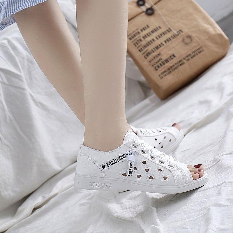 2018 Plates Lacets Blanc Dames Chaussures De Zapatos Marques Femme zGMSUVpq