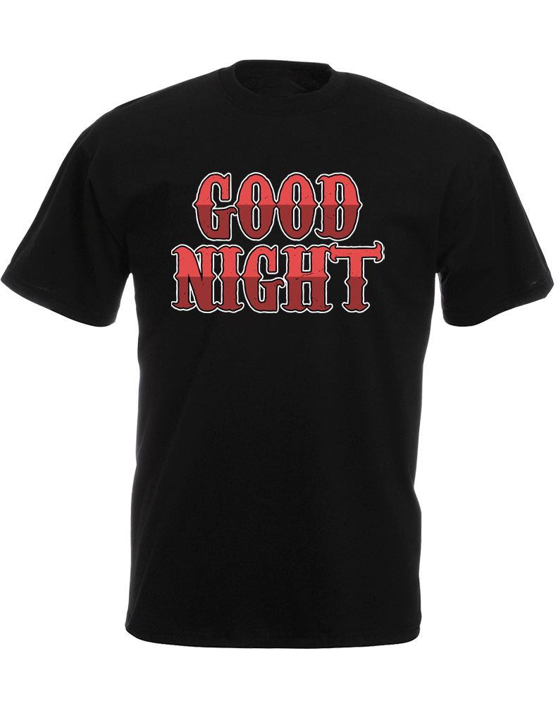 Design t shirt graphics online - T Shirt Online Store Shirt Graphics Crew Neck Good Night Short Design T Shirts For Men