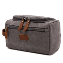 LHLYSGS Men Waterproof Toiletry Bag Travel Portable Large capacity Cosmetic Bag Women Fashion Storage Wash Organizer Makeup Bag недорого