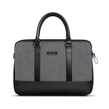 Black Male Pocket book Baggage 13 15 inch Males's Briefcase Laptop computer Cowl for Paperwork Pc Equipment Case for Pill Laptop computer Tas