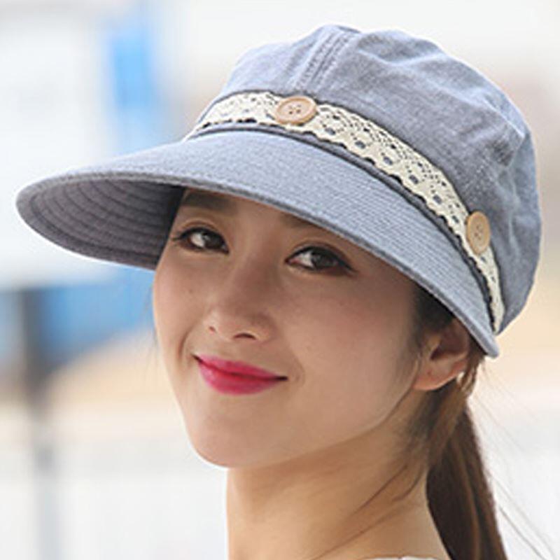 BINGYUANHAOXUAN Women Sun Hat Wide Brim Summer UV Protection 2 In 1 Beach Sun Visor Hat