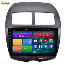 NAVITOPIA 1024*600 10.2 inch Quad Core Android 6.0 Car Radio for Mitsubishi ASX 2011 2012 2013 2014 2015 2016 Audio Stereo