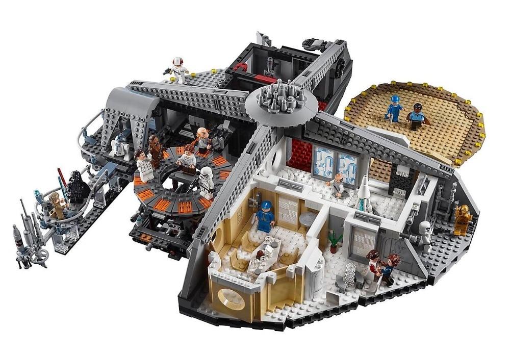05151 Star Wars traición en nube de construcción de la ciudad de bloques de 3149 piezas de ladrillos Compatible con Legoings Star Wars