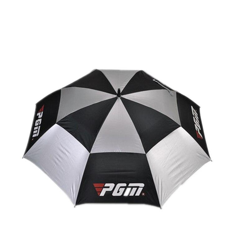 Paraguas de Golf de forma manual sombrilla súper tifón nivel de resistencia de f