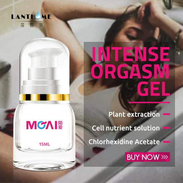 Intense Orgasm Gel 15ml Sex Drop Exciter for Women,Climax Gel Orgasm Female Sex Spray Stimulant Vagina Libido Enhancer Intim Gel