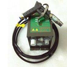 Антистатический Воздушный пистолет ионизирующий Воздушный пистолет+ генератор высокого напряжения электростатический пистолет