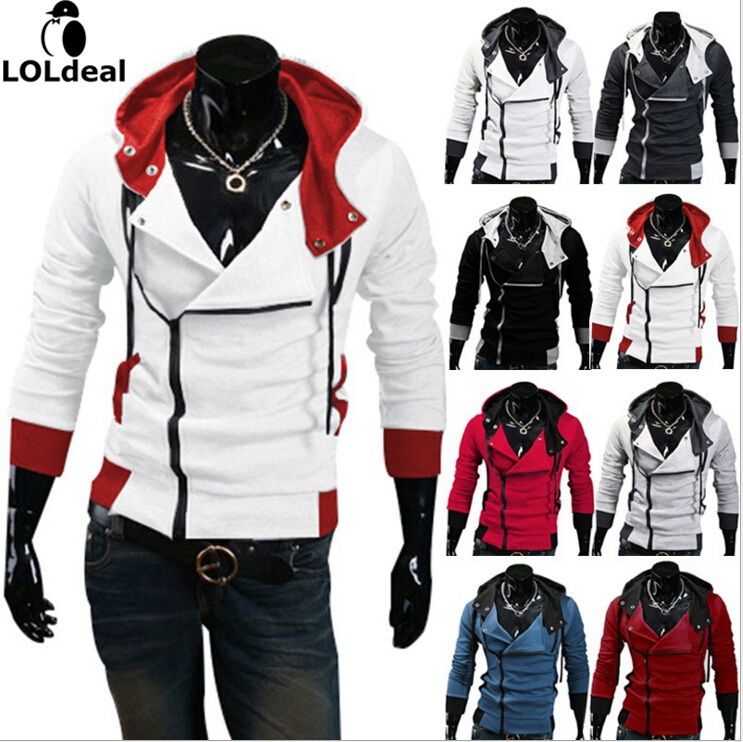 Loldeal Hot Sale Cardigan Men Hoodies Jacket  Clothing Fashion Zip Hoodie Man Casual Slim Hoody Sweatshirt Sportswear moletom