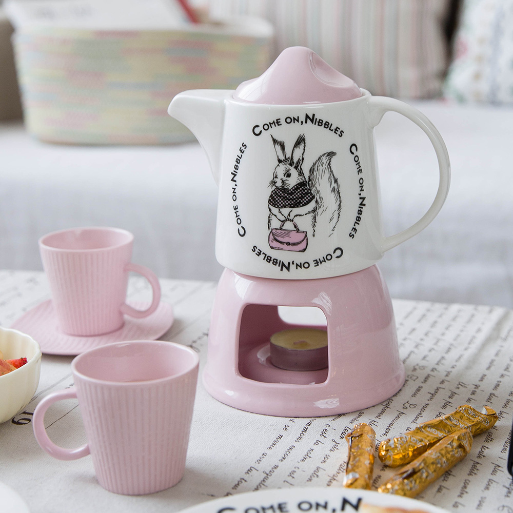Modern housewife mud series candy color cartoon ceramic for Modern housewife