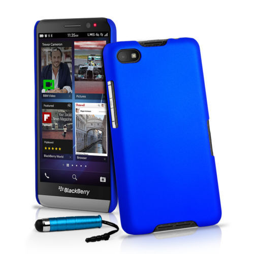 Colorful Ultra Thin Frosted Matte Hard PC Shield Skin Back Cover Case For Blackberry Z30 ...