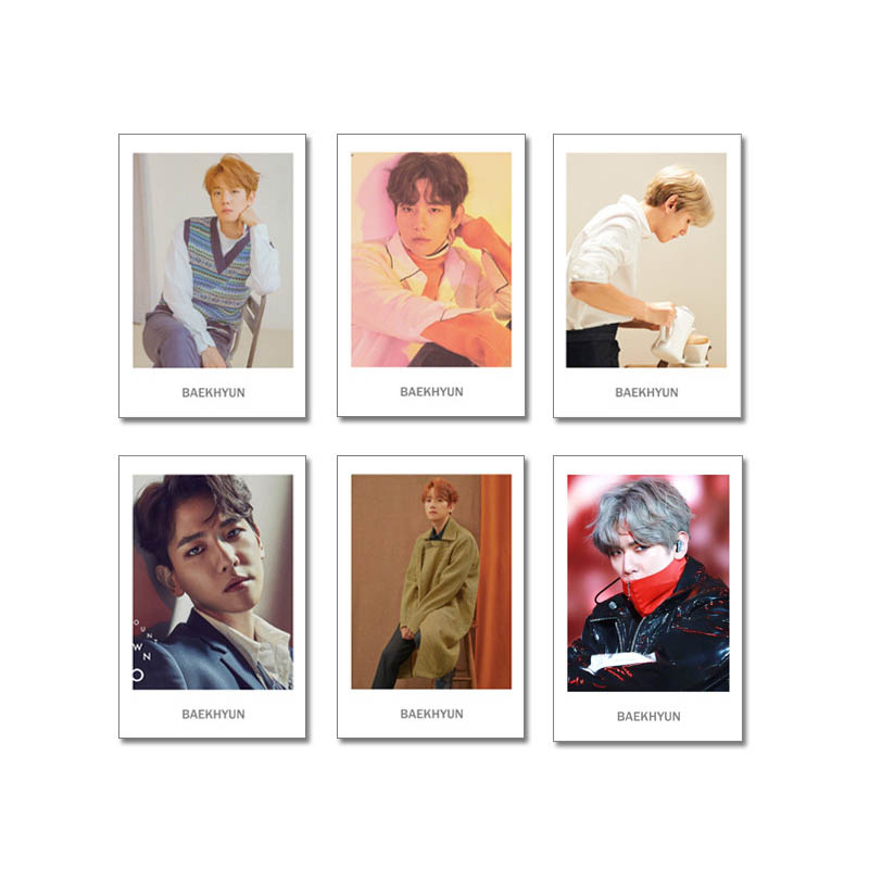 Youpop Kpop Exo Dont Mess Up My Tempo Album Transparent Photo Card Pvc Cards Self Made Lomo Card Photocard Xk602 Jewelry Findings & Components