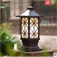 Garden pillar lamp wall lamp headlight landscape garden lamp