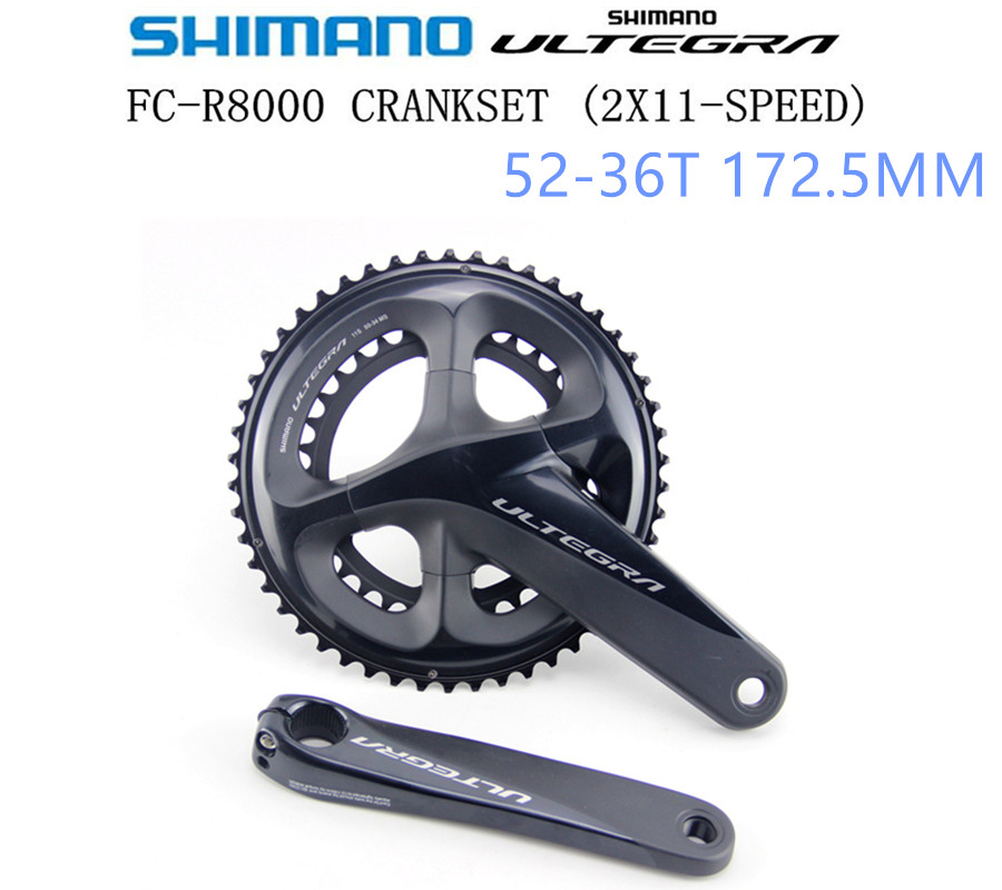 Shimano Ultegra Hollowtech II FC-R8000 2x11-Speed 53x39T 172.5mm Crankset