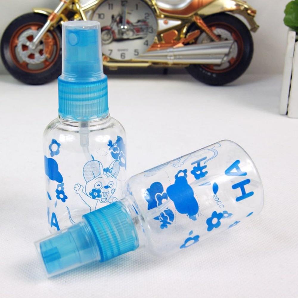 50ml Travel Transparent Refillable Bottles Plastic Perfume Atomizer Small MIni Empty Spray Bottle/Press