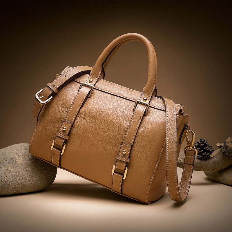 Zccmwx brand fashion women's leather bag female shoulder bag handbag high quality Messenger bag brown / black цена