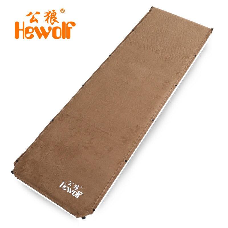 6,5 см Толстая замша медный/пластиковый клапан коврик Автоматическая надувная подушка влагостойкий матрас походный открытый кемпинговый те...