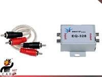 12V Vehicle Car Audio Amplifier Amp Noise Filter RCA Plug LOOP ISOLATOR For DVD Stereos